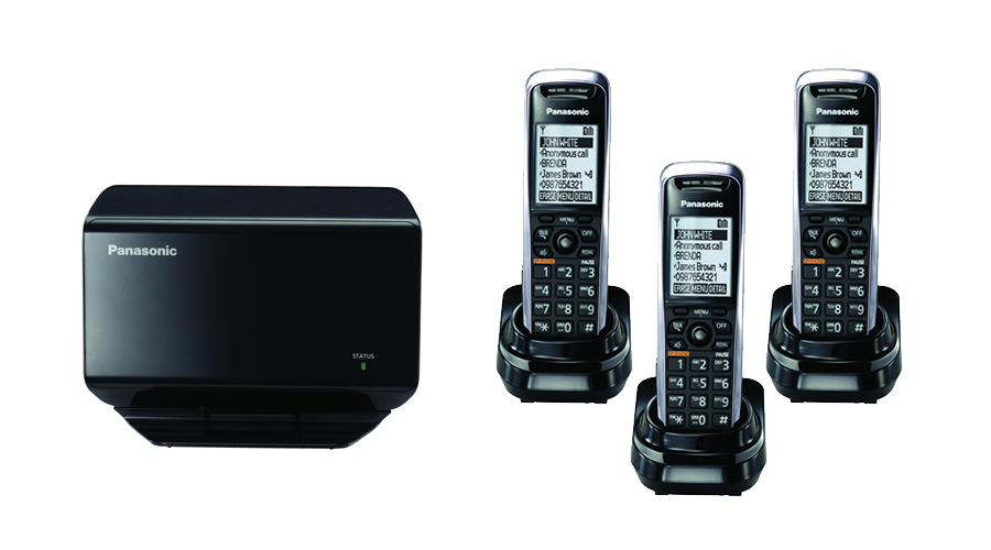 TGP500 SIP DECT VOIP Phone Cord Cordless Base with 3 TPA50