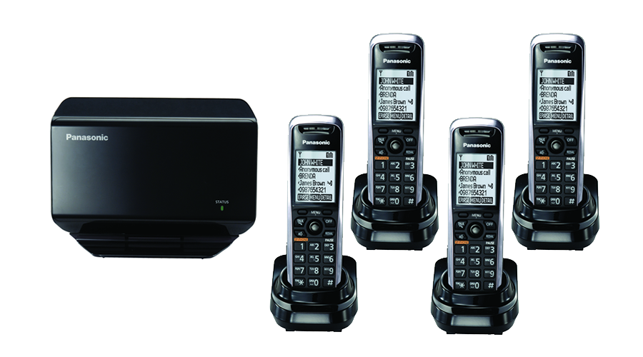 TGP500 SIP DECT VOIP Phone Cord Cordless Base with 4 TPA50