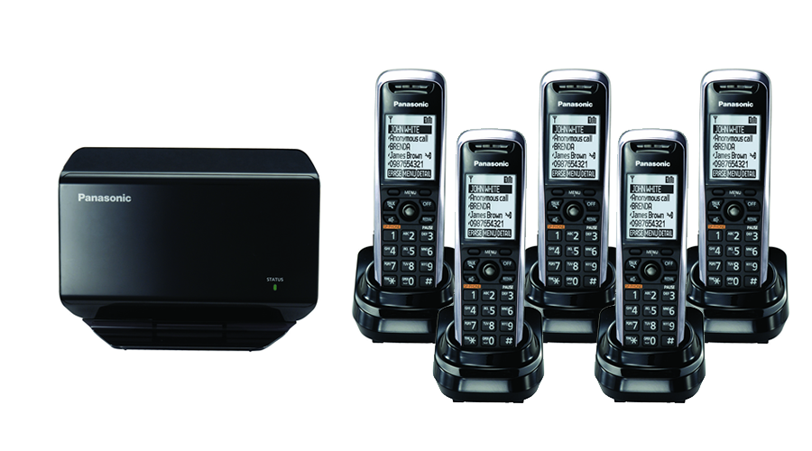 TGP500 SIP DECT VOIP Phone Cord Cordless Base with 5 TPA50