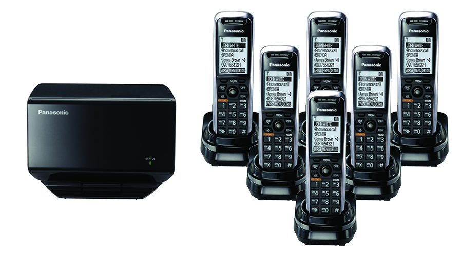 TGP500 SIP DECT VOIP Phone Cord Cordless Base with 6 TPA50
